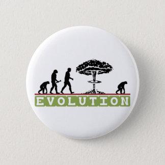 Badge Rond 5 Cm L'évolution drôle évoluent