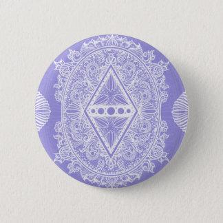 Badge Rond 5 Cm Lilas, âge du réveil, bohémien, newage