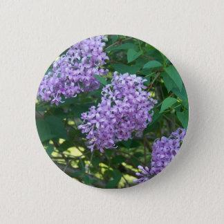 Badge Rond 5 Cm Lilas d'odeur agréable