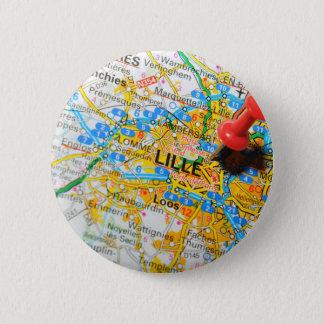Badge Rond 5 Cm Lille, France