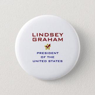 Badge Rond 5 Cm Lindsey Graham pour le président Etats-Unis