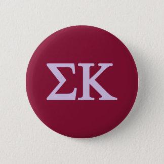 Badge Rond 5 Cm Logo de Lil de Kappa de sigma grand