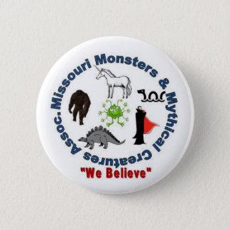 Badge Rond 5 Cm Logo de monstres du Missouri et de créatures