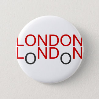 Badge Rond 5 Cm Londres