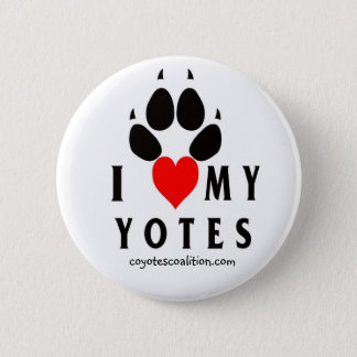 Badge Rond 5 Cm lovemyyotes, coyotescoalition.com