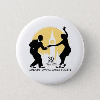 Badge Rond 5 Cm LSDS 30 ans d'anniversaire de Lindy d'insigne