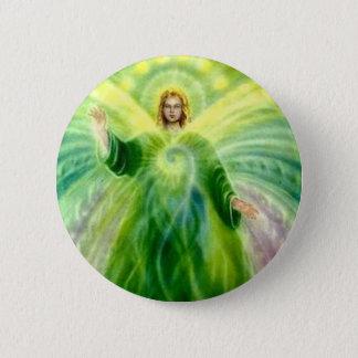 Badge Rond 5 Cm Lumière curative de Raphael d'Arkhangel