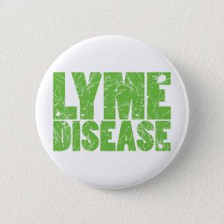 """Badge Rond 5 Cm Lyme verdissent la conception """"de la maladie de"""