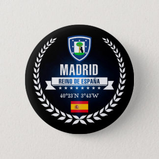Badge Rond 5 Cm Madrid