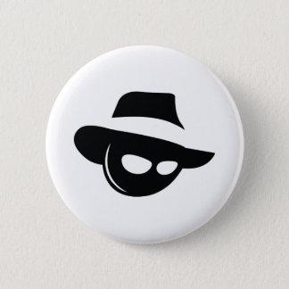 Badge Rond 5 Cm Mafia d'ombre
