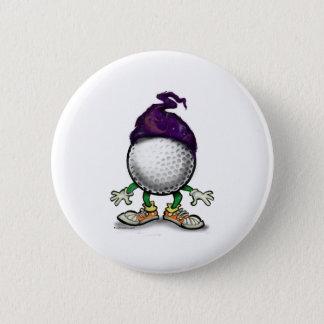 Badge Rond 5 Cm Magicien de golf