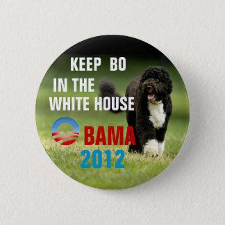 Badge Rond 5 Cm Maintenez la BO dans la Maison Blanche