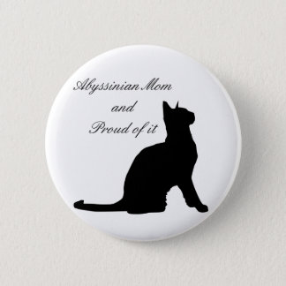 Badge Rond 5 Cm Maman abyssinienne