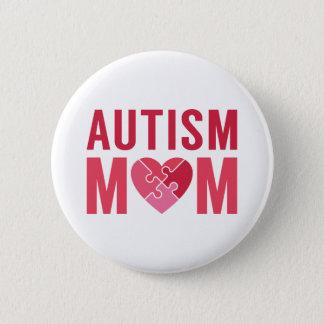 Badge Rond 5 Cm Maman d'autisme
