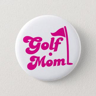 Badge Rond 5 Cm Maman de golf