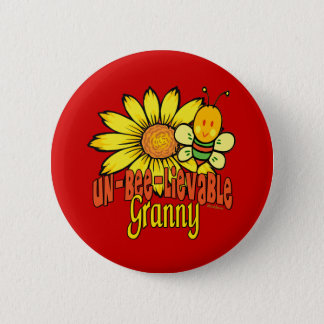 Badge Rond 5 Cm Mamie incroyable