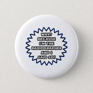 Badge Rond 5 Cm Manipulateur. Puisque j'ai dit ainsi