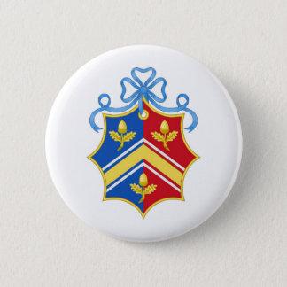 Badge Rond 5 Cm Manteau de Middleton des bras/de la crête famille