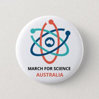 Badge Rond 5 Cm Mars pour la Science - Australie -