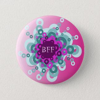 Badge Rond 5 Cm Meilleurs amis de BULLE pour toujours