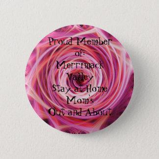 Badge Rond 5 Cm Membre fier de : Vallée Sta de Merrimack…