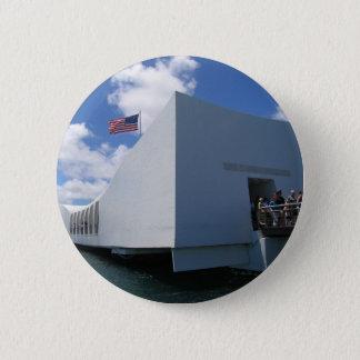 Badge Rond 5 Cm Mémorial d'USS Arizona