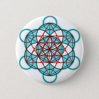 Badge Rond 5 Cm MetatronTGlow