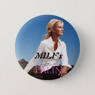 Badge Rond 5 Cm MILF pour Palin