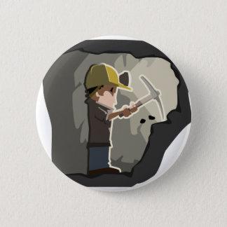 Badge Rond 5 Cm Mineur