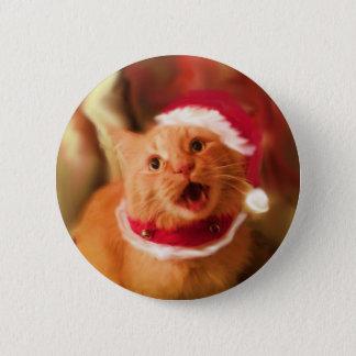 Badge Rond 5 Cm Minous 1 de Noël