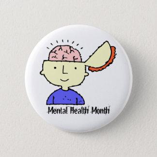 Badge Rond 5 Cm Mois de santé mentale