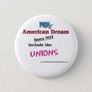 Badge Rond 5 Cm MON rêve américain