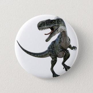 Badge Rond 5 Cm Monotophosaurus semblant droit