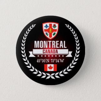 Badge Rond 5 Cm Montréal