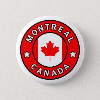 Badge Rond 5 Cm Montréal Canada