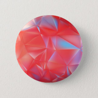 Badge Rond 5 Cm motif bleu rouge d'abrégé sur polygone