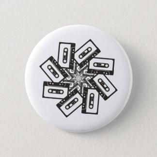 Badge Rond 5 Cm Mouvement giratoire de musique