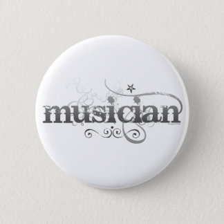 Badge Rond 5 Cm Musicien urbain