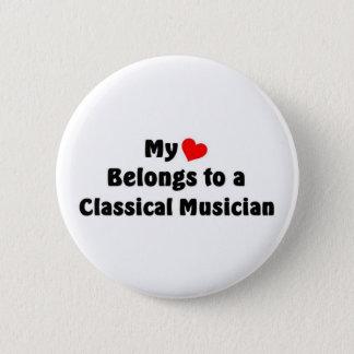 Badge Rond 5 Cm Musique classique