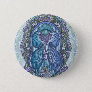 Badge Rond 5 Cm Naissance éternelle, nouvel âge, de Bohème
