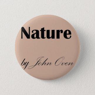 Badge Rond 5 Cm Nature par Pin de logo de four de John