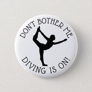 Badge Rond 5 Cm Ne me tracassez pas que la gymnastique est sur le
