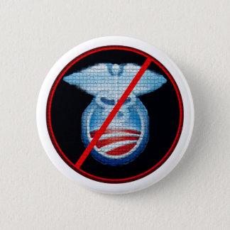 Badge Rond 5 Cm Non à Obamacare