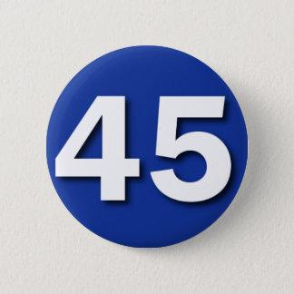 Badge Rond 5 Cm Nous sommes l'insigne de 45% (Ecosse Indyref)