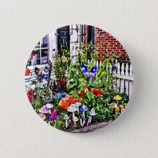 Badge Rond 5 Cm Nouvelle PA d'espoir - jardin des champignons en