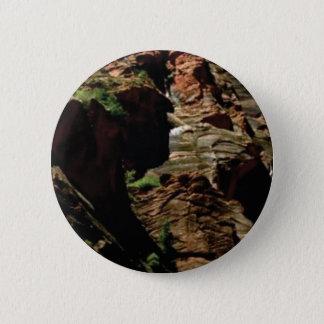 Badge Rond 5 Cm nuances d'ombre des roches