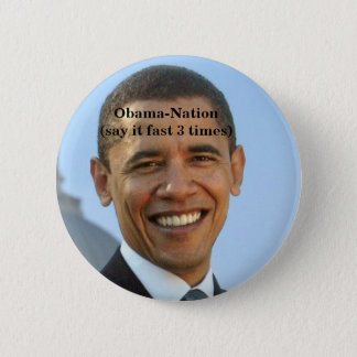 Badge Rond 5 Cm Obama-anti.