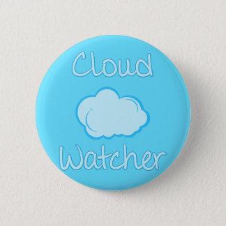 Badge Rond 5 Cm Observateur de nuage