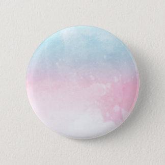 Badge Rond 5 Cm ombre de gradient d'aquarelle
