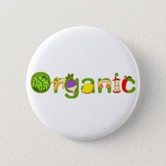 Badge Rond 5 Cm Organique